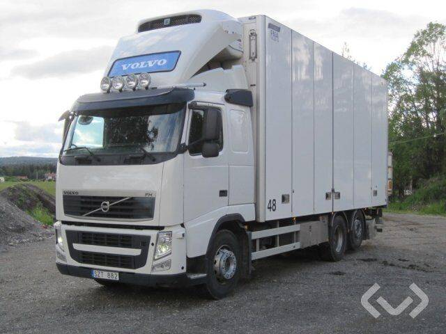 Volvo FH 6x2 Box (Cooler + bg-lift + side doors) - 14 - 2014