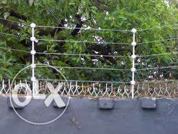 Electric Fence Wire and razor Installation
