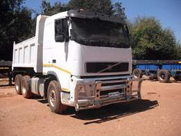 Volvo FH 12-400 tipper truck for sale