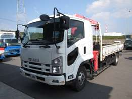 Isuzu Forward year 2009 CRANE