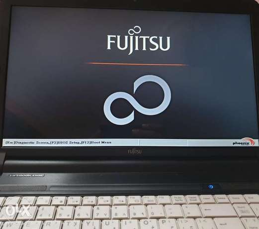 Laptop Fujitsu Lifebook A530 Series Black