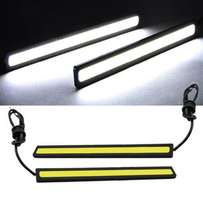 Waterproof 2x Super Bright COB Car LED Lights 12V For DRL Fog Lamp