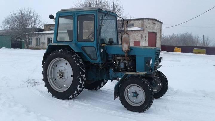MTZ 80 wheel tractor - 1990