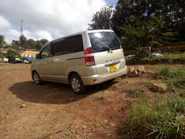 Well maintained Toyota Noah.