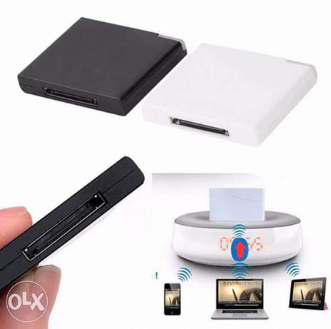 Wireless bluetooth music Receiver for ipod speaker