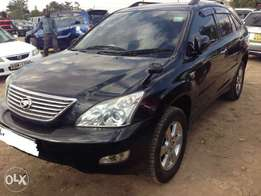 2006 HARRIER Toyota accident free car very clean black