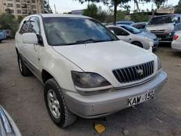 Toyota Harrier in great condition.