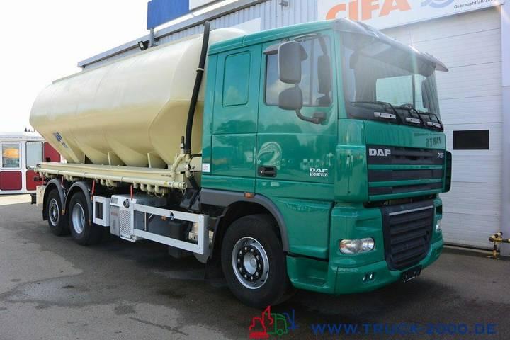 DAF XF105.410 Feldbinder Silo Staub & Riesel 32 m³ - 2010