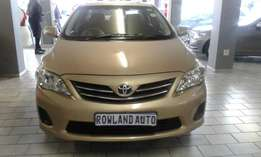 2011 toyota corolla 1.6 for sell R120,000