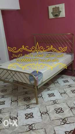 Fashion iron bed. AlMoner 4 Fer Forje