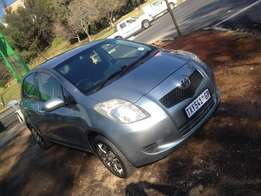 2007 toyota yaris t3 silver color with 95000km R79000