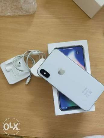 iPhone X 256 gb brand new condition with warranty