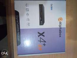 Alphabox X4 Decoder HD