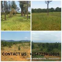 Quick Sale 5 acres Prime land in Nanyuki, Akorino at 900k per acre