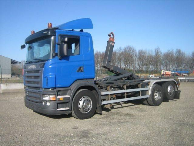 Scania R 380 L 6x2/4 - EURO 4 - GESTUURDE LIFTAS - 2008