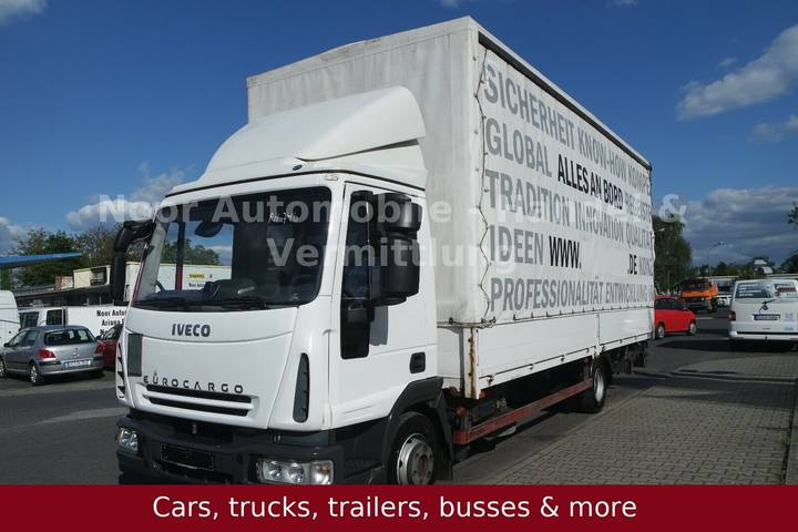 Iveco Eurocargo ML80E22u002FP BL Tautliner - 2008