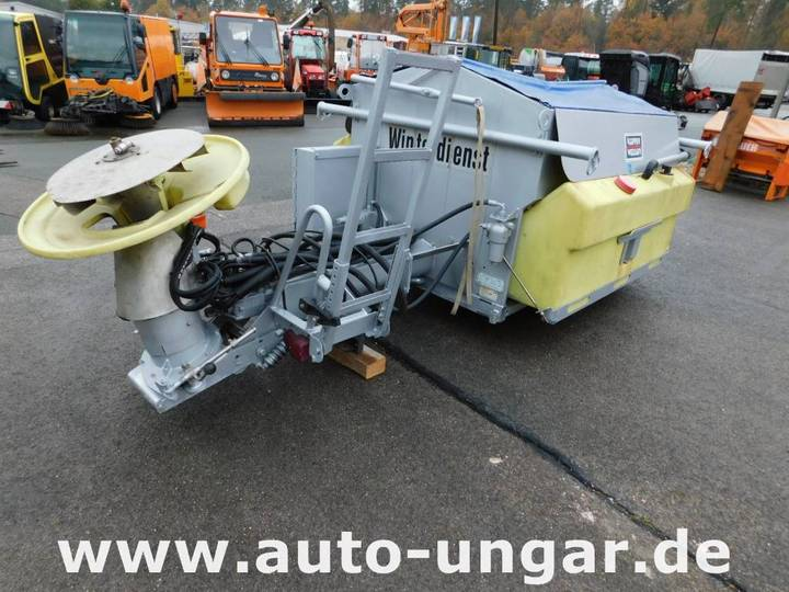 Küpper-Weisser Sta95 W15hfv 1.5m³ + Sole Salzstreuer Multicar - 2002