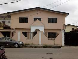 Block of 4 Flats of 3 Bedrooms Office Space To Let at Alagomeji Yaba