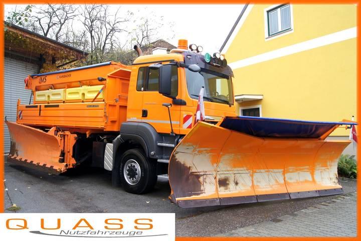 Springer SHE-A 4104 / + Seitenpflug / Schneepflug / Schneeschild - 2005