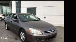 Honda Accord 2007 Tokunbo