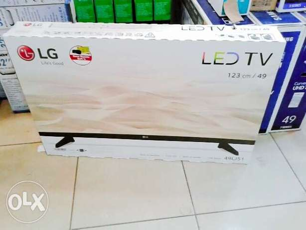 LG 49 inch digital TV with over 100 free to air channels Nairobi CBD - image 1