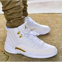 Air Jordan 12 Retro - White Metallic Gold