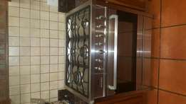 Gas stove Kelvinator 5x burners, Electric oven