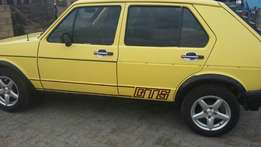 Golf GTS in good condition start and drive