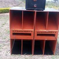 2 reverse bass cabinets for sale
