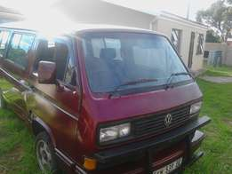 Vw Caravelle with 2y Toyota Engine