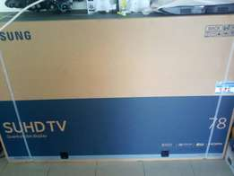 Brand new Samsung 78 inches curved led TV super uhdtv