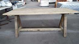Retro re Produced Trestle Tables - Made to ORDER