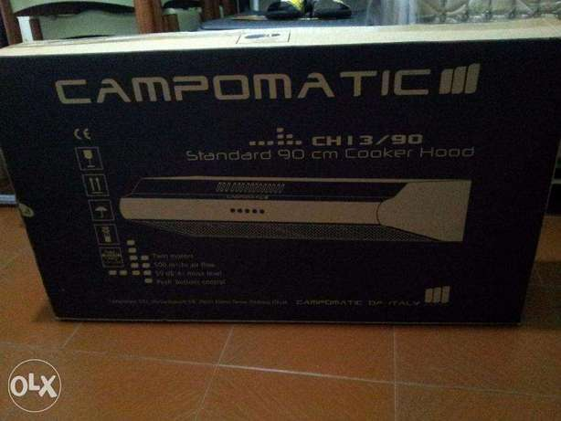 Campomatic 90 cm cooking hood