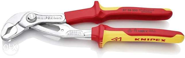 KNIPEX Cobra VDE Hightech Water Pump Pliers, insulated 1000V-insulated