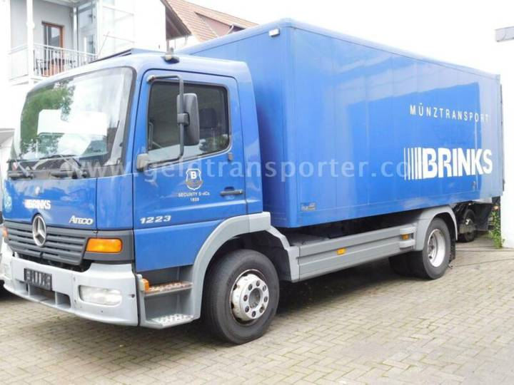 Mercedes-Benz Atego 1223 Ladebordwand,Klima,FB3 Panzerung - 2004