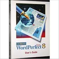 Corel WordPerfect Suite 8 User's Guide - USED