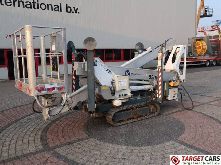 Multitel SMX170 Crawler Articulated Bi-Fuel BoomLift 1685cm - 2009