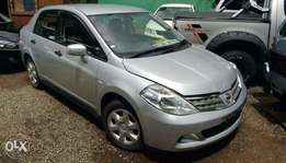 Nissan Tiida Latio,new import,2010,reg KCN/V