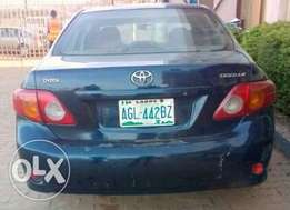 Corolla 2008 manual distressed sale nuthing to fix