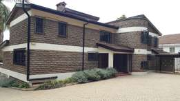 A spacious 5 bedroom house to let in Gigiri