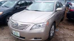 One year used toyota camry 09 tincan cleared