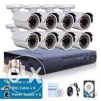 8 Channel Cctv system sale and installation.