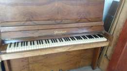 Beautiful recently tuned Prüchner Upright Piano