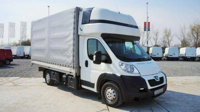 Peugeot BOXER 3.0/130KW PRITSCHE+PLANE 8PAL./LUFT - 2013