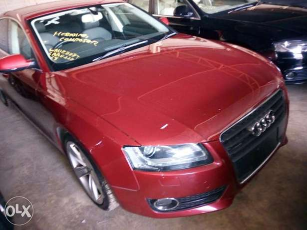 Audi A4 1.8T Sparkling Red Mombasa Island - image 2