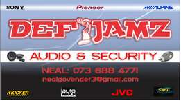 In-car entertainment sound & security
