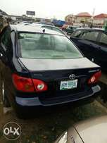 Neatly used Toyota corolla for sale