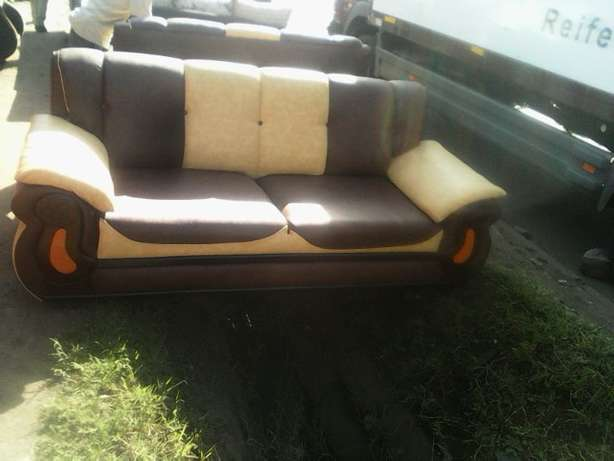 7 seated Sofa of 3-2-2 Nyayo Highrise - image 5