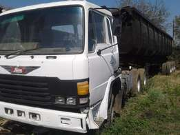 Hino Super Dolphine ADE447 with Side Tipper
