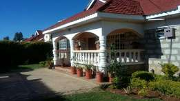 4 bedroom fully furnished house with sq and own compound to let eld